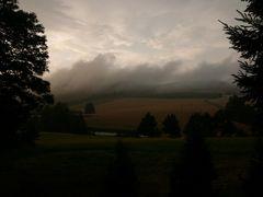 Hechtfeld im Nebel
