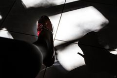 heels in the shade