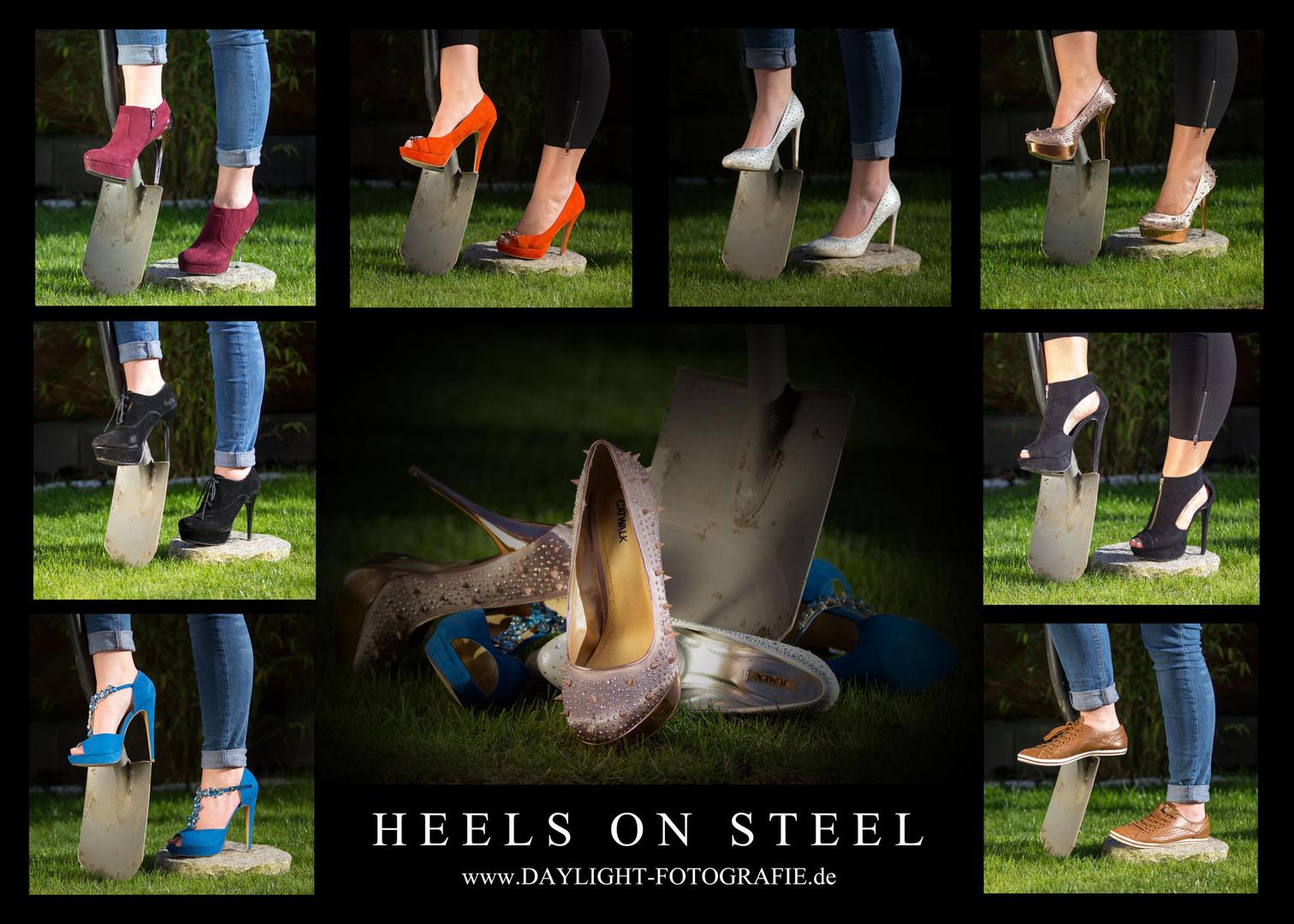 Heels on Steel