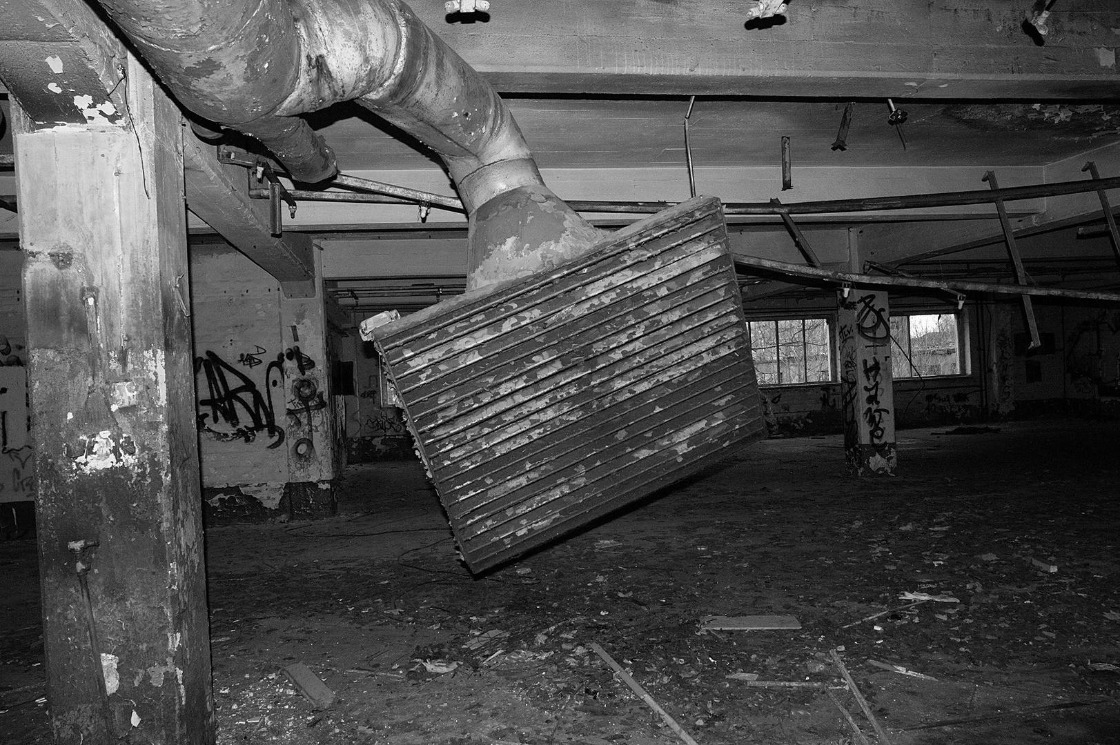 Heeresbäckerei, ehemaliges Motorenwerk der Sowjetarmee