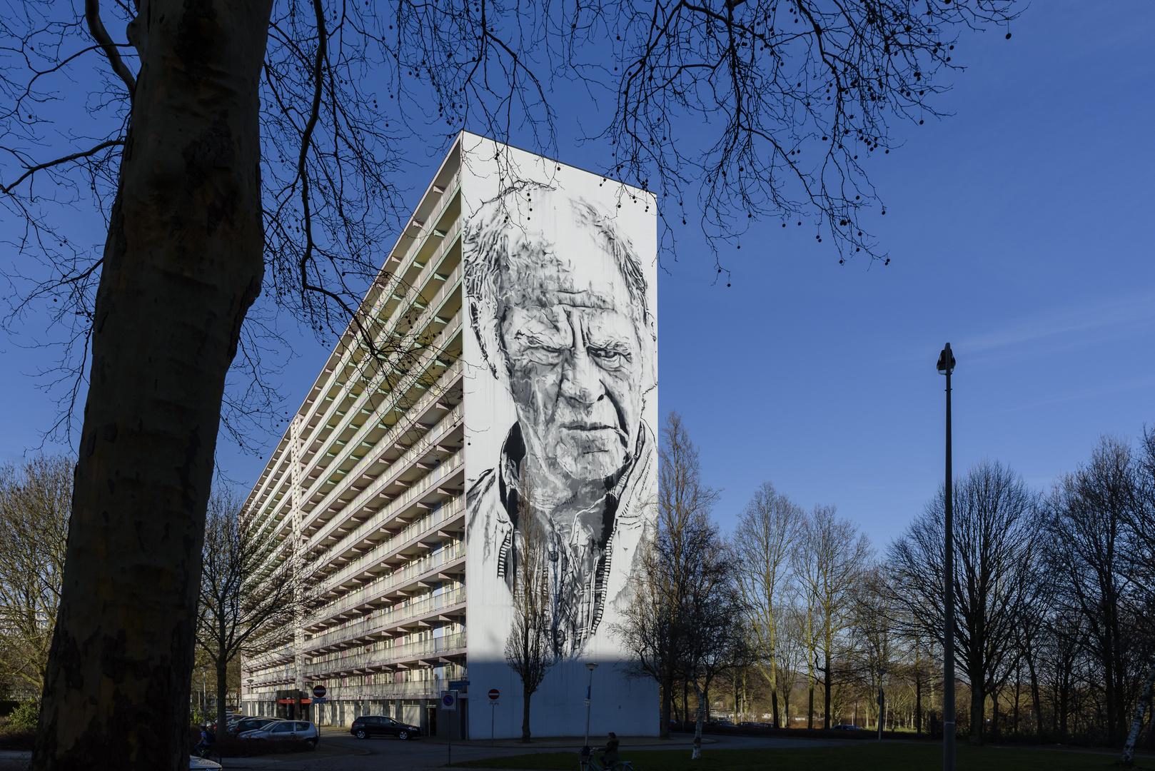 Heerlen/NL:                Menschliches Antlitz (1) ...