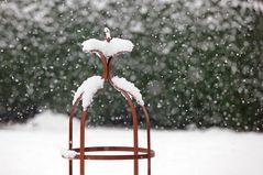 Heftiger Schneefall
