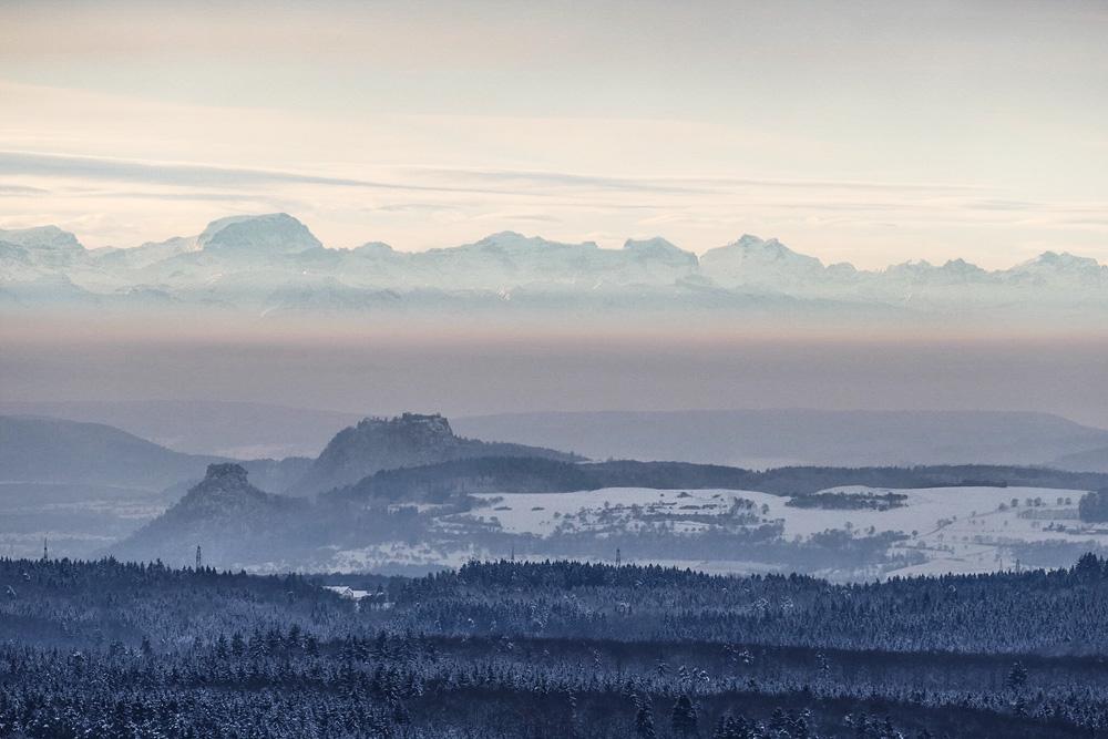 Hegauvulkane und Alpen II