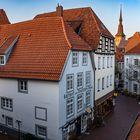 Heger-Tor-Viertel in Osnabrück mit Blick auf Marien