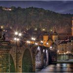 Heidelberg at Night