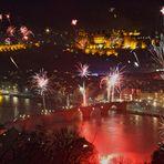 Heidelberg feiert den Jahreswechsel