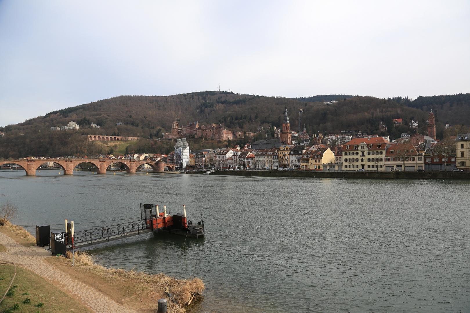 Heidelberg - Schlossruine, Alte Brücke, Altstadt