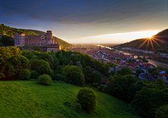 Heidelberg sundown