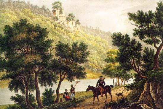 HEIDELBERG VIKTOR VON SCHEFFEL Und geb dem Pferd die Sporen und reit ins NECKARTAL