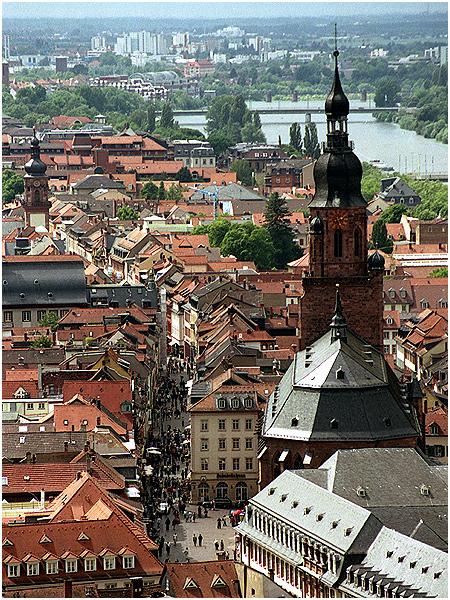 Heidelberger Einkaufsmeile