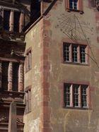 Heidelberger Schloss - die Sonnenuhr