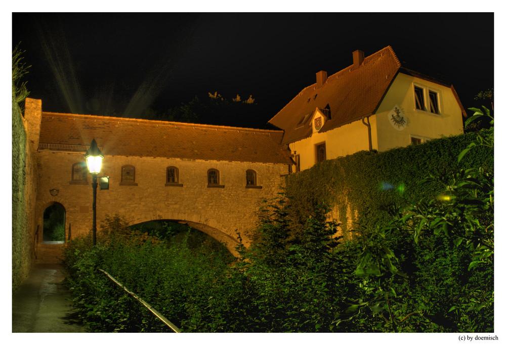 Heidingsfeld - Teil der Stadtmauer