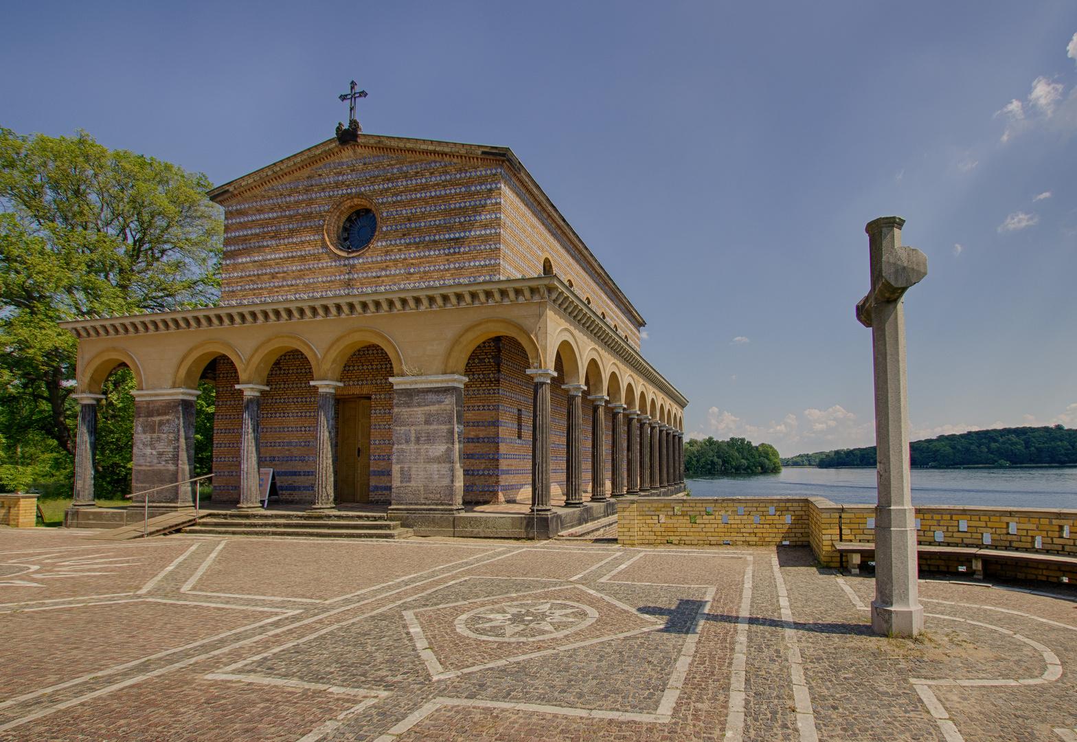Heilandskirche am Port von Sacrow. Die 2te