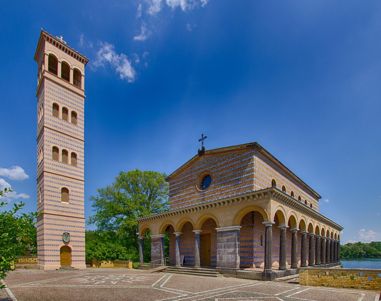 Heilandskirche am Port von Sacrow