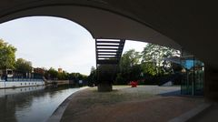 Heilbronn. Urbaner Raum Unter der Brücke