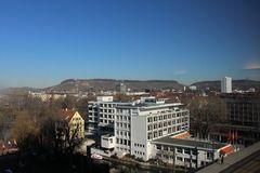 Heilbronn vom Neckarturm aus aufgenommen
