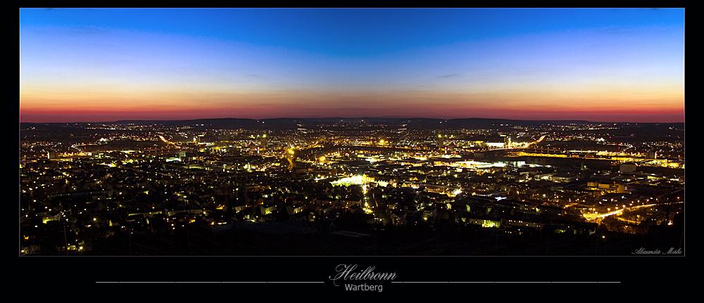 Heilbronn vom Wartberg aus