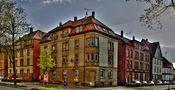 Heilbronn. Ziegelsteinewohnhaus  in der Oststrasse, 1908 von Giuseppe Di Giandomenico