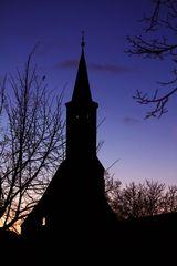 Heilig-Geist-Kapelle bei Nacht
