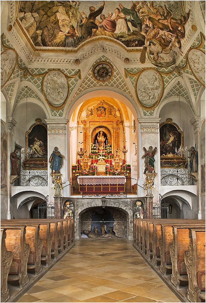 Heilig-Kreuz-Kirche (auf dem Kalvarienberg in Bad Tölz)
