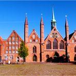 Heiligen-Geist-Hospital - nach der Fassadensanierung 2015