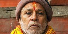Heiliger Mann in Bhaktapur