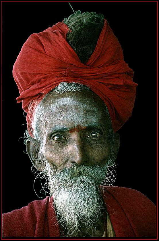 Heiliger Mann in Madras