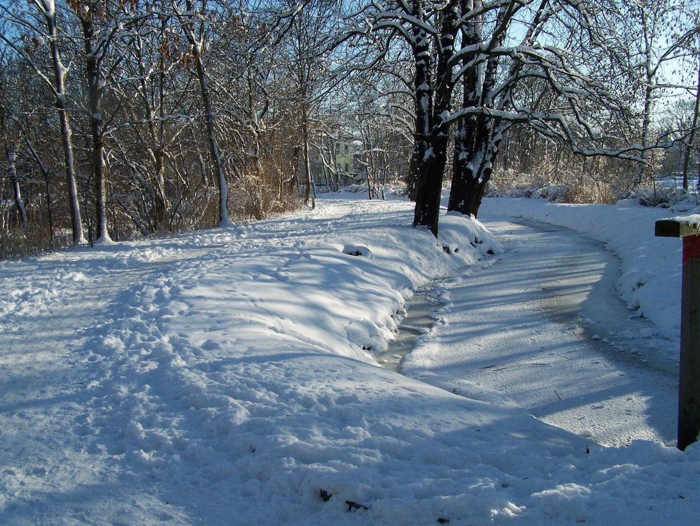 Heimat im Winter 2
