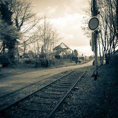 Heimat - Kurzstrecke mit Bahnhof
