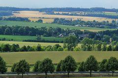 Heimatblick von der Langenberger Höhe