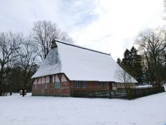 Heimatmuseums- Gehöft in Buchholz..