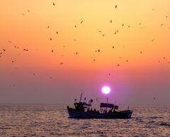 Heimkehr vom Fischfang