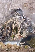Heisse Quelle aus dem Geysierfeld von ElTatio