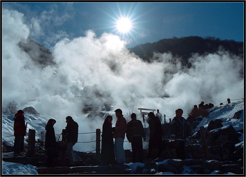 Heisse Quelle bei Hakone (2)