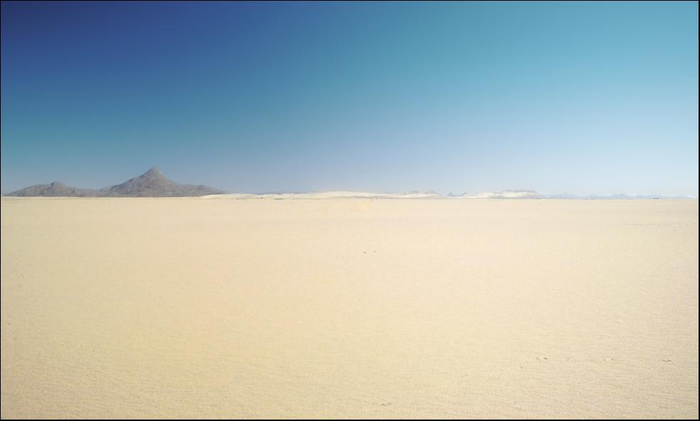 Heißer Sand ...