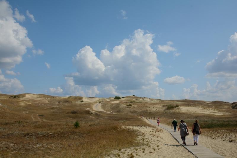 heißer Wüstensand