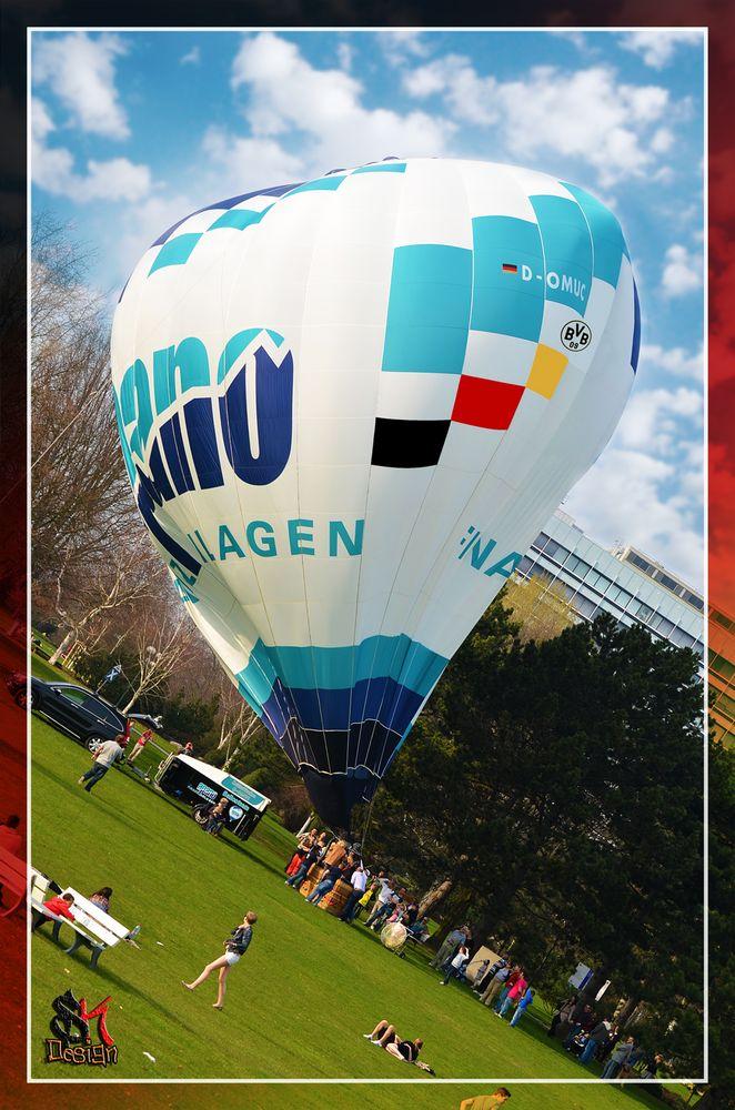 Heißluftballon In Dortmund: Heißluftballon Westfalenpark Dortmund Foto & Bild