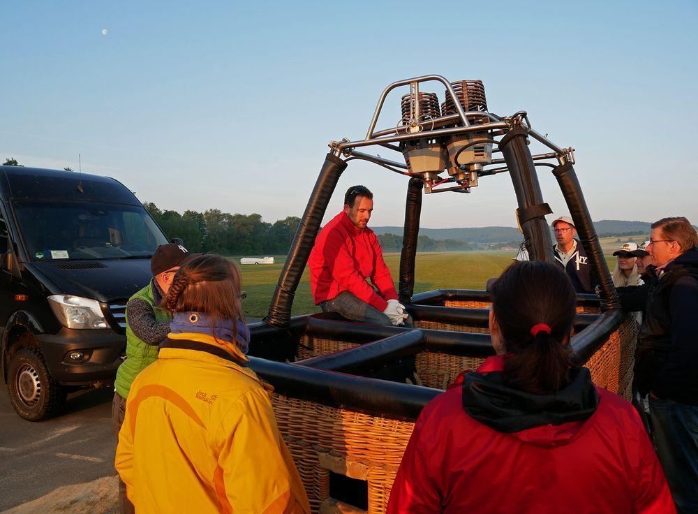 Heißluftballonfahrt Taunus IV