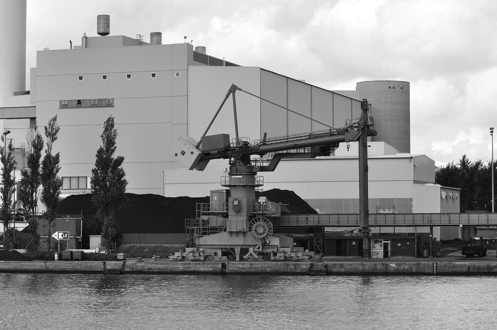 Heizkraftwerk am Hafen