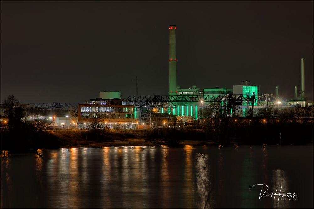 Heizkraftwerk Lausward Düsseldorf ...
