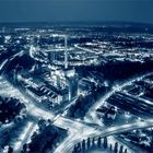 Heizkraftwerk West (Karlsruhe) @ Night