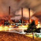 Heizkraftwerk Wolfsburg, Werk Volkswagen