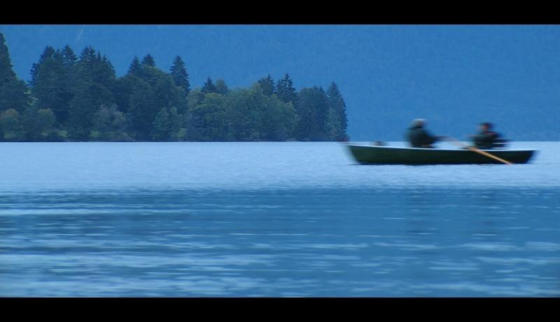 Hektik auf dem Walchensee