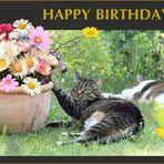 Helga hat Geburtstag