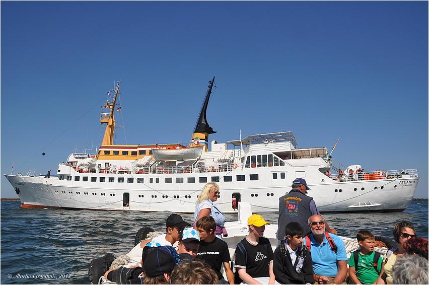 Helgoland - Einbooten...