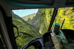 Helicopter sightseeing scenic flight