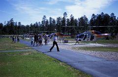 Helicopterflugplatz in Tusayan