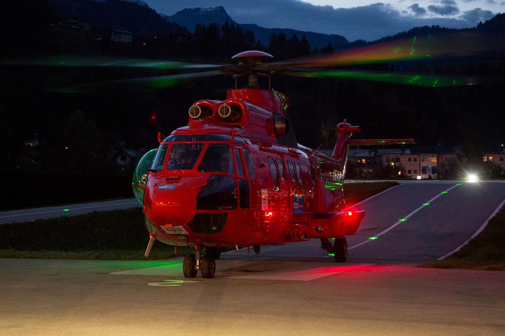 Heliport Super Puma