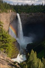 helmcken falls rainbow