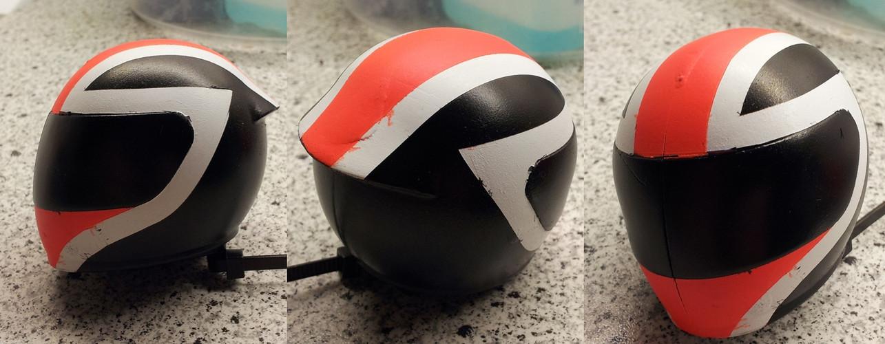 Helmdesign für meine neue Karosse SB5